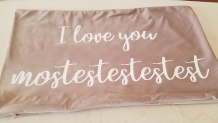 Pillowcase I love you