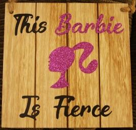 This Barbie is Fierce